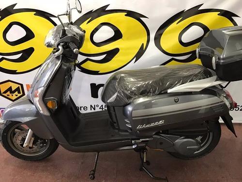 kymco like 200 0km moto 2017 scooter retro inyeccion disco