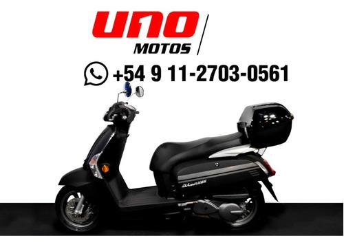 kymco like 200 0km scooter 2 años de garantia