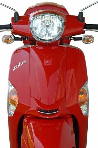 kymco like 200 moto scooter