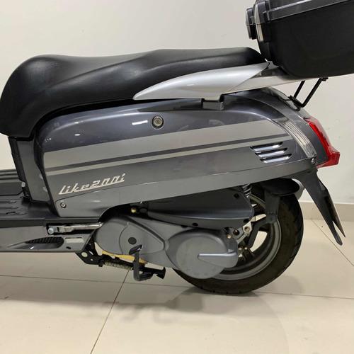 kymco like 200 scooter 2017 usada 7900 km 999 motos
