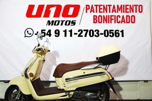 kymco like 200i 0km uno motos scooter