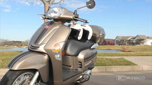 kymco like 200i - the scooter market