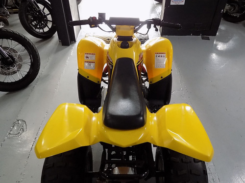 kymco mongoose90 amarillo 2016
