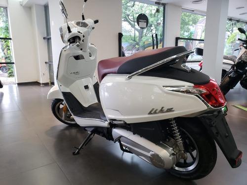 kymco new like 150i 0km 2019 modelo nuevo