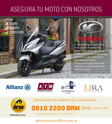 kymco scooter ak 550 0km en brm estamos vendiendo online !!!