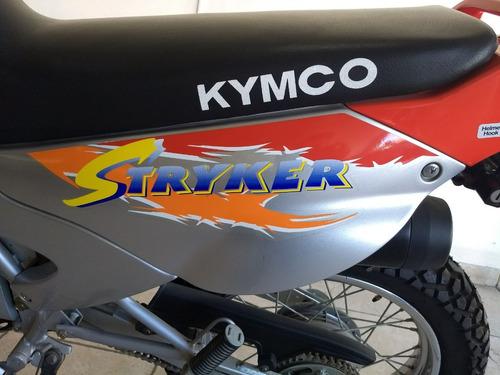 kymco stryker 150 0km nunca rodada