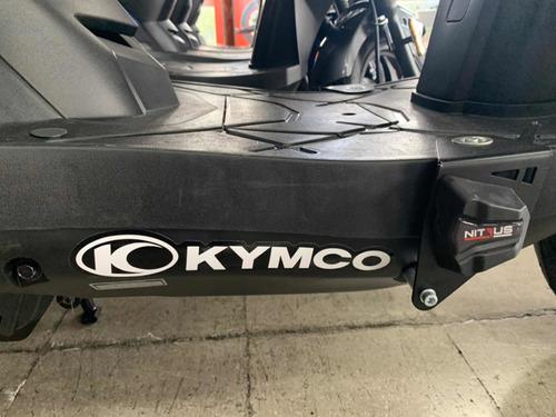 kymco twist city 125 facil de manejar