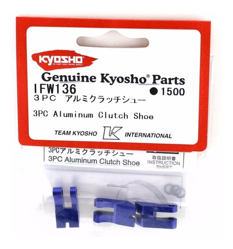 kyo ifw-136-mp7.5/igt/ius/drt/mfr-sapata de embreagem 3/pc