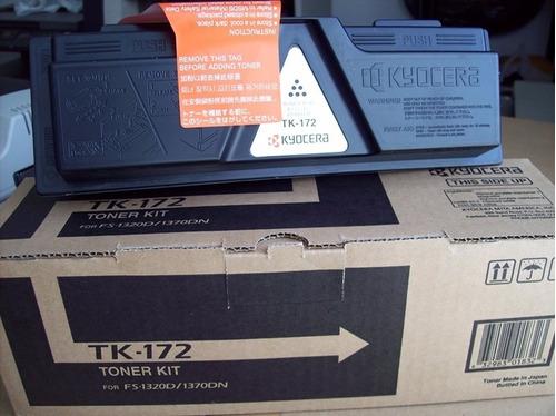 kyocera tk-172: original toner negro / 7.200 páginas