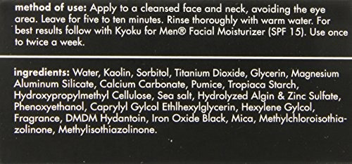 kyoku for men lava masque tratamiento del acné para