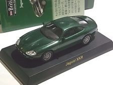 kyosho 1/64 british car jaguar xkr miniature car collection