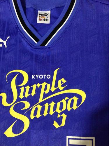 kyoto purple sanga japão puma anos 90 unif.1 #7 jogo rara g