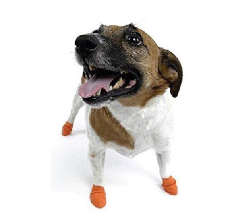 kyz impermeable al aire libre calcetines del perro botas de