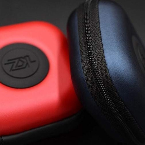 kz estuche forro audífono profesional eva duro protector 7$