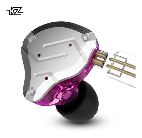kz zs10 pro preto ou lilás  atualizado de ouro + bag