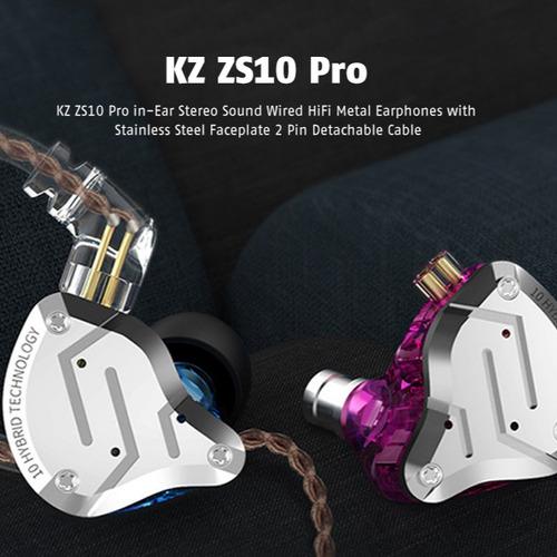 kz zs10 pro ring iron auricular