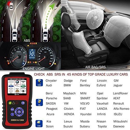 Kzyee Kc501 Universal Obd2 Scanner Enhanced Obd Ii Car Code