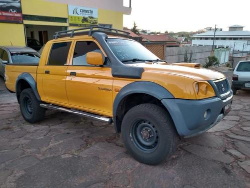 l 200 savana, 2009, revisada, 4 pneus novos. lindo carro!