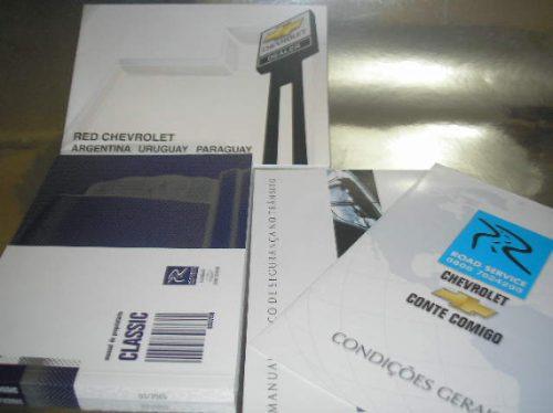 l  260 / 01-021 manual proprietário corsa sedan classic 2005