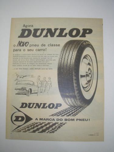 l - 290/ gayn190 propaganda antiga pneus dunlop