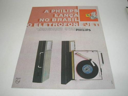 l - 290/ gcdk120 propaganda antiga philips eletrofone jet