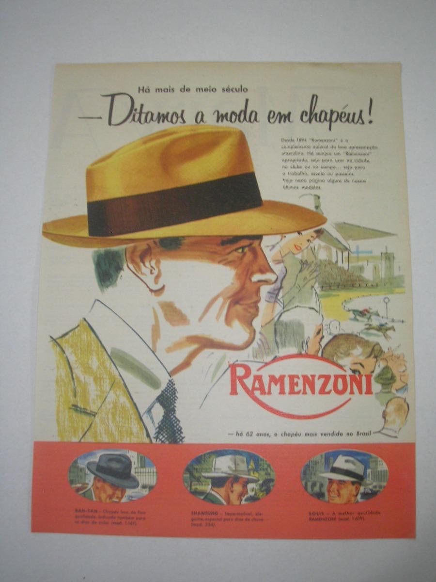 L 290  Genr40 Propaganda Antiga Indústria Ramenzoni - R  29 912b7a2f091