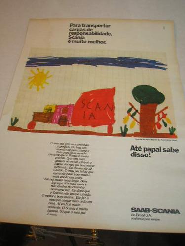 l- 290/ gfdm340 propaganda antiga saab scânia