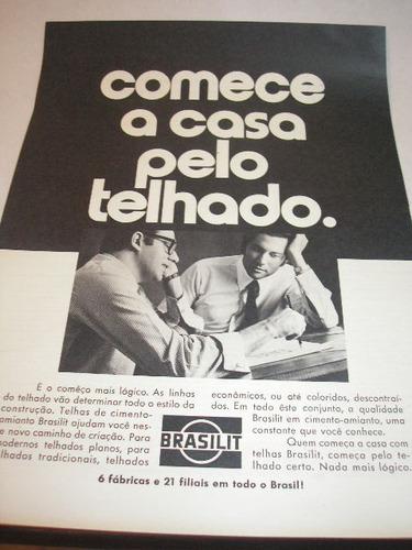 l - 290/ gffdm370 propaganda antiga  indústria  brasilit