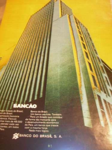 l  290/ glm70 propaganda antiga banco do brasil s.a