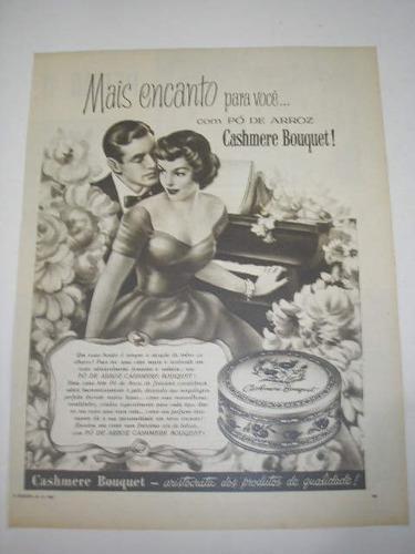 l - 290/ gloz190 propaganda antiga cashmere bouquet