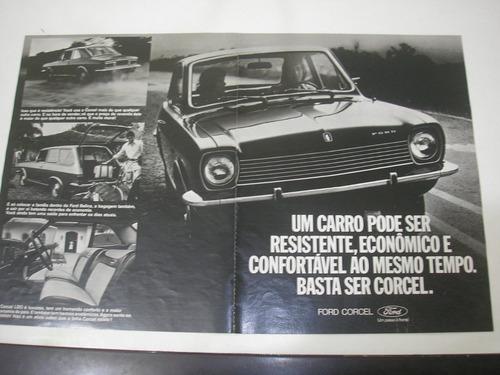 l  290/ gpop410 propaganda antiga ford corcel 1976