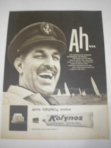 l  290/ gzba370  propaganda antiga creme dental kolynos