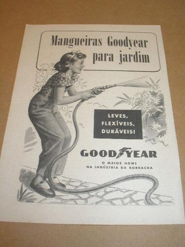l - 290/ padr40 propaganda antiga mangueira goodyear