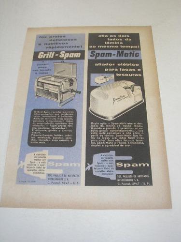 l  290/ pbmk120  propaganda antiga eletrodomésticos spam