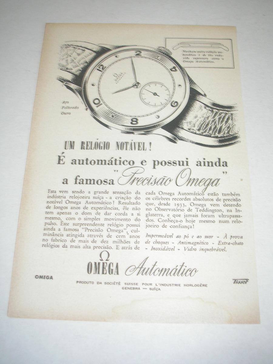 be86b5b44d7 l - 290  pbmk750 propaganda antiga relógio omega. Carregando zoom.