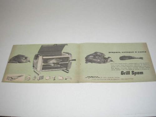 l  290 / pmho220  propaganda antiga eletrodomésticos spam