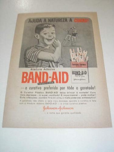 l  290/ pmr110 propaganda antiga curativos band-aid