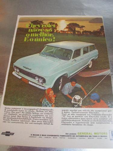 l  290/ pngk90 propaganda antiga chevrolet veraneio 1968 # 3