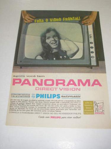 l 290/ pps220  propaganda antiga philips televisor panorama