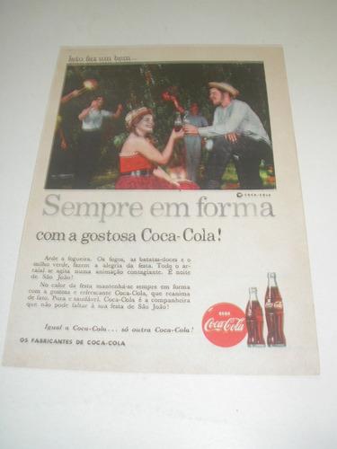 l  290/ pps330 propaganda antiga refrigerante coca cola