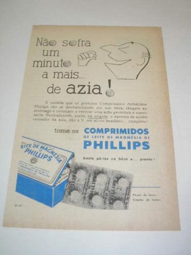 l  290/ psan90  propaganda antiga comprimidos phillips