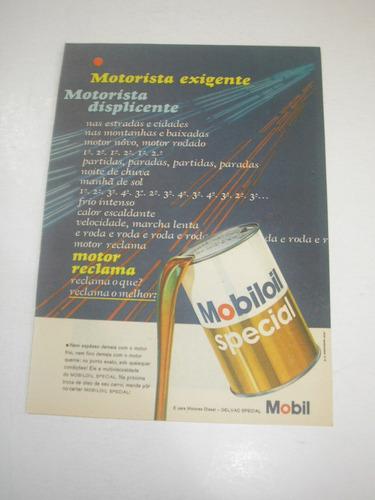 l  290/ pvk10  propaganda antiga óleo mobiloil