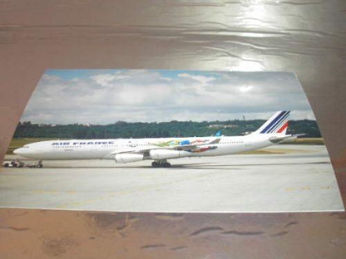 l 380  f - 11 fotografia avião a 340-300 seleção brasileira