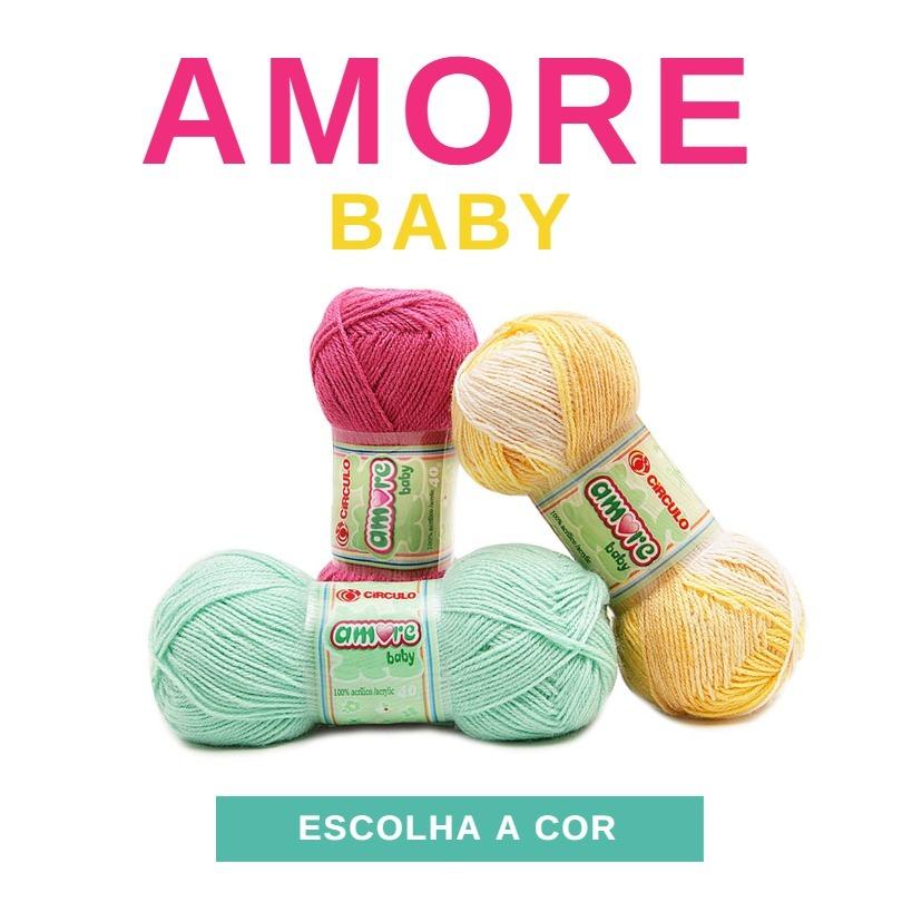 lã amore baby circulo 40g para crochê e tricô - promoção! Carregando zoom. 43e66f93e9b