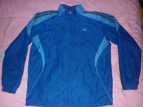 Campera Azul Deportiva adidas Art L Rompeviento 68037 6Yyv7bfIgm