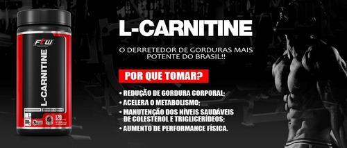 l-carnitina 1000mg - ftw - 120 cápsulas