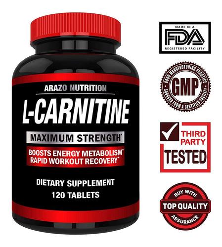 l-carnitina, 120 tab a_24 vrd ccs y valencia