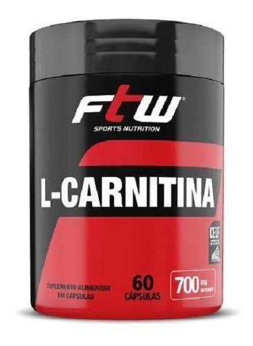 l-carnitina - 60 cápsulas - ftw