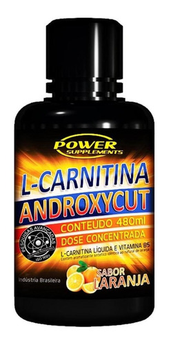 l-carnitina androxycut (480ml) power supplements