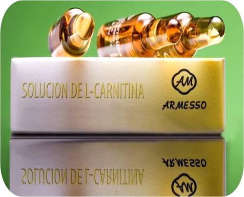 l-carnitina inyectable / topico adelgaza moldea define muscu